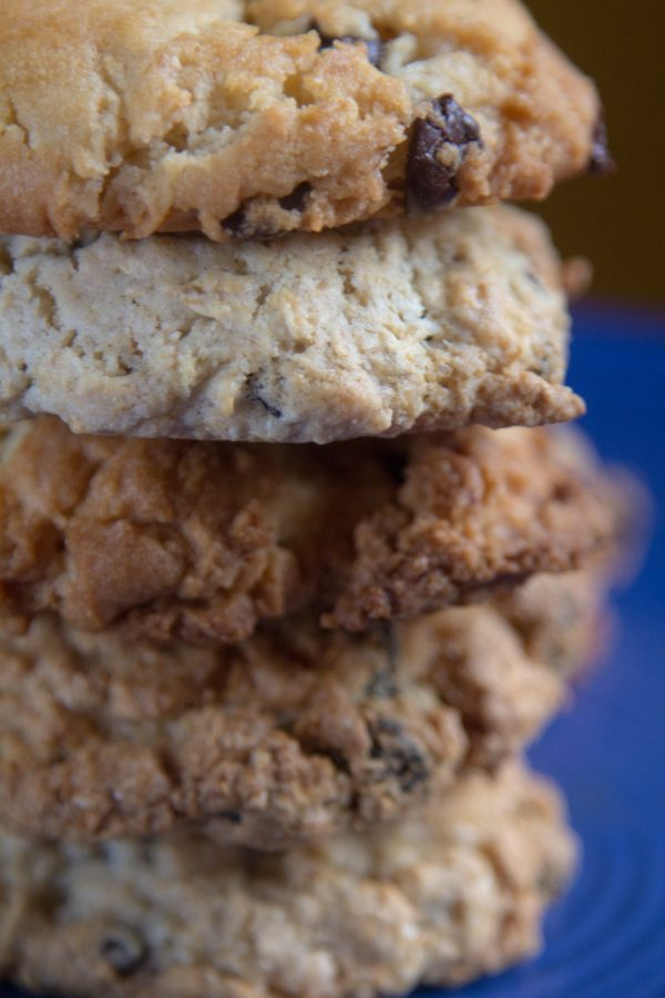 Vegan Cookies Stacked